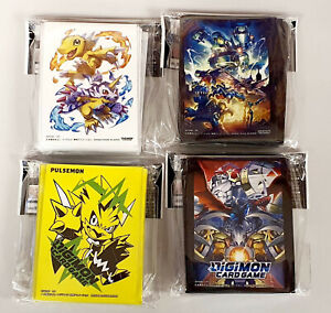 Digimon Card Game Official Carddass Card Sleeves 2021 Bandai 4 Types