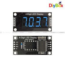"0.36"" TM1637 4-digit 7-Segment Digital Tube LED Blue Display Module for Arduino"