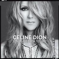 Céline Dion Loved Me Back to Life CD Album New & Sealed