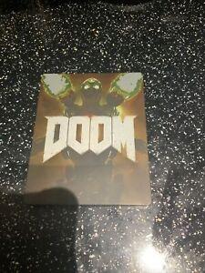 SONY PLAYSTATION 4 PS4 Doom Steelbook Edition
