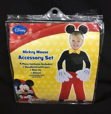4pc Disney Mickey Mouse Clubhouse Hands Gloves/Ears/Headband/Bow Tie Costume