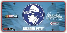 #43 Richard Petty Commemorative Signature Series Souvenir License Plate SS43RPWH