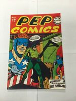 Special Edition Reprints Flashback Comics 16 Pep Comics 17 Nm Near Mint