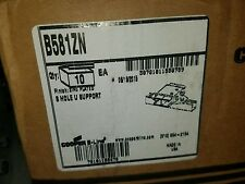 B-Line B581ZN 8 hole U support qty 10