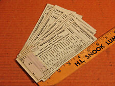 THE SOUTH WIND Vtg L&N LOUISVILLE AND NASHVILLE RAILROAD  10 Tickets Special Ser