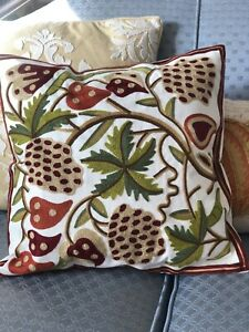 New Yanglovele Bohemia Embroidered Square Sofa Pillow Cover Style #4