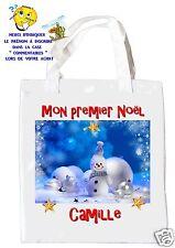 sac shopping noël sac à commissions sac à cadeaux joyeux noel réf 202