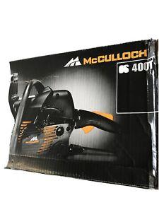 McCulloch CS 400T 2-Stroke 42cc 40cm Chainsaw brand new boxed