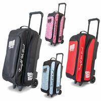 Bowling Ball Tasche DV8 Triple Roller Freestyle Bag, Platz für Bowlingschuhe