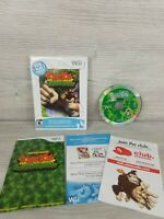New Play Control Donkey Kong Jungle Beat Nintendo Wii 2009 Complete damaged case