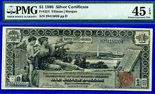 FR-224 1896 $1 S/C (( Educational )) PMG Choice Extremely-Fine 45EPQ 29415020