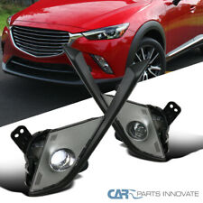 For 16-18 Mazda CX-3 LED SMD Projector Fog Lights Front Driving Bumper Lamps