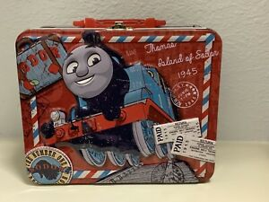 "Thomas the train and Friends 7 7/8"" Tin Lunch Box with 24 Piece Puzzle-New!"