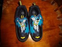 Disney Cars Baby Toddler Boy Light Up Strap Athletic Shoes Sneakers Black Red