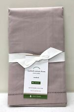 NEW Pottery Barn Washed Cotton Organic STANDARD Pillow Sham~Light Orchid