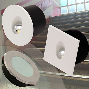 Led Staircase Light Stairway Lighting Wall Recessed Stairs Spotlight Steps