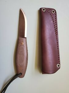 LT Wright Kamrat Companion Knife With JRE Leather Sheath Excellent Barely Used
