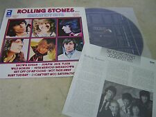 "THE ROLLING STONES KOREA VINYL LP 12"" 11TRACK GREATEST HITS VOL.2 1986 w/INSERT"
