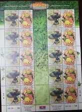 O) 2002 MALAYSIA -TROPICAL BIRDS - DRYCOPUS JAVNESIS -ORIOLUS CHINENSIS  -SCT 88