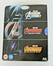 Avengers: 3 Movie Collection [Blu-ray] [Region Free]