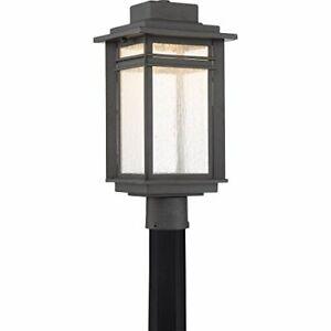 Quoizel BEC9009SBK Beacon Outdoor Lantern in SBK - Stone Black