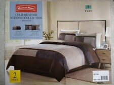 Nwt, $199. Msrp, 2 Piece Mountain Ridge Briarwood Twin Comforter Set w/ Sham