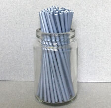 "4.5"" Plastic Silver Lollipop Sticks, Silver Sucker Sticks, Silver Cake Pop Stick"