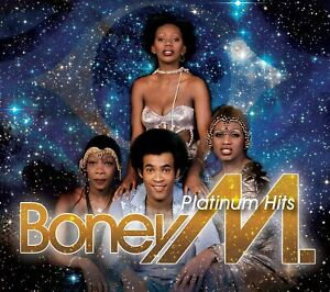 Boney M Platinum Hits 2-CD NEW SEALED Rivers Of Bablyon/Brown Girl In The Ring+