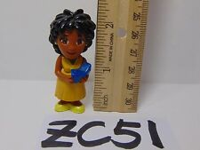 DORA THE EXPLORER TALKING DOLL HOUSE REPLACEMENT FIGURE PVC LADY-WOMAN-YELLOW