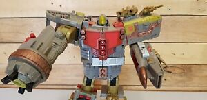 Transformers Platinum Edition Year of The Snake Omega Supreme Incomplete.