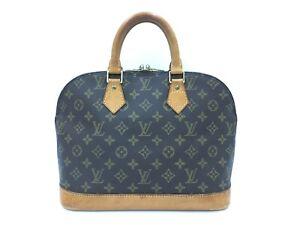 """Auth Louis Vuitton  Vintage Monogram Alma Hand Bag 1D070040n"""""""