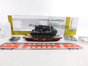 CS344-0,5# Roco Minitanks H0/DC 789 Schwerlastwagen + Flakpanzer Gepard NEUW+OVP