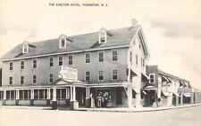 Vintage USA Postcard, c1930s/40s The Carlton Hotel, Tuckerton, New Jersey CZ1