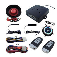 StockAuto SUV Alarm System Keyless Entry Engine Ignition Push Starter Button Kit