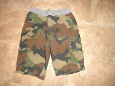 Boys Arizona Elastic/Stretch Waist Camo Cargo Shorts Size 10 NWOT