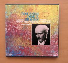 Cetra LO 511 Toscanini Conducts Brahms Symphonies etc 1952 NEAR MINT 4xLP Box