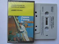 JAMES YOUNG 'YOUNG AT HEART' CASSETTE, 1966 EMERALD, TESTED.