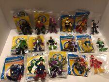 Imaginext Dc Lot Of (17) Aquaman Batman Lex Manta Wonder Twins Batgirl +3 Others