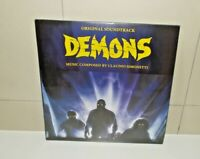 Demons Soundtrack Vinyl limited edition  LP Brand New & Sealed Green Vinyl