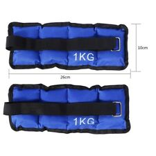 2X Ankle Weight Adjustable Leg Wrist Straps Running Boxing Braclets Training Gym