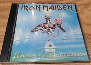 Iron Maiden Seventh Son of a Seventh Son UK 1988 Pressing VG+ Condition