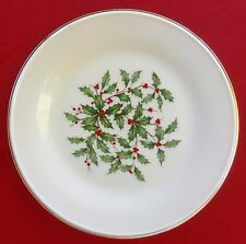 "Lenox China Holiday (Dimension / Presidential) 8 1/8"" SALAD / SIDE PLATE - MINT!"