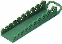 SK Hand Tools Wr Rack SG 10Pc Green Shrt 1077