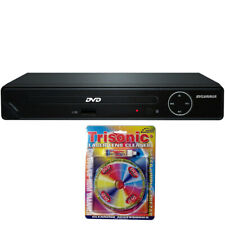 Sylvania HDMI 1080p DVD Player w/ USB Port w/Trisonic Laser Lens Cleaning Bundle