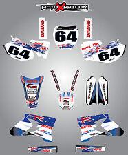 Full  Custom Graphic  Kit -AUSSIE PRIDE - Yamaha YZ 250 F - 2003 - 2005 stickers