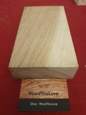 🍁Hardwood Oak Offcut Block Crafting  L 21.5 cmX W 11.4 cm X D 4.2 cm (2111 P)