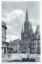 Wiesbaden, AH-Platz mit Marktkirche, um 1940