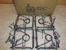 4 Bridger 150  Body Grippers Traps   Trap  Martin Muskrat  Mink Fisher