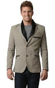 New Men's 'RNT23 Jeans' European Blazer Sports Coat w/ Removable Collar XS - XL
