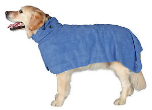 Trixie Dog Bathrobe Microfibre Towel  - after bathing, walking or in the car